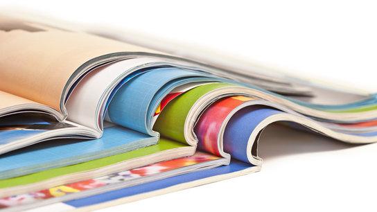 Farbige Magazine